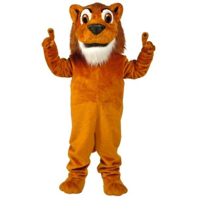 Larry Lion Mascot Costume Free Shipping