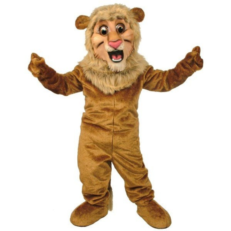 Happy Lion Mascot Costume Free Shipping