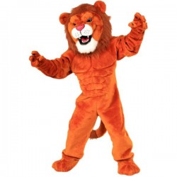 Lion Power Cat Mascot Costume Free Shipping