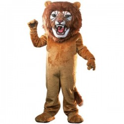 Super Lion Mascot Costume Free Shipping