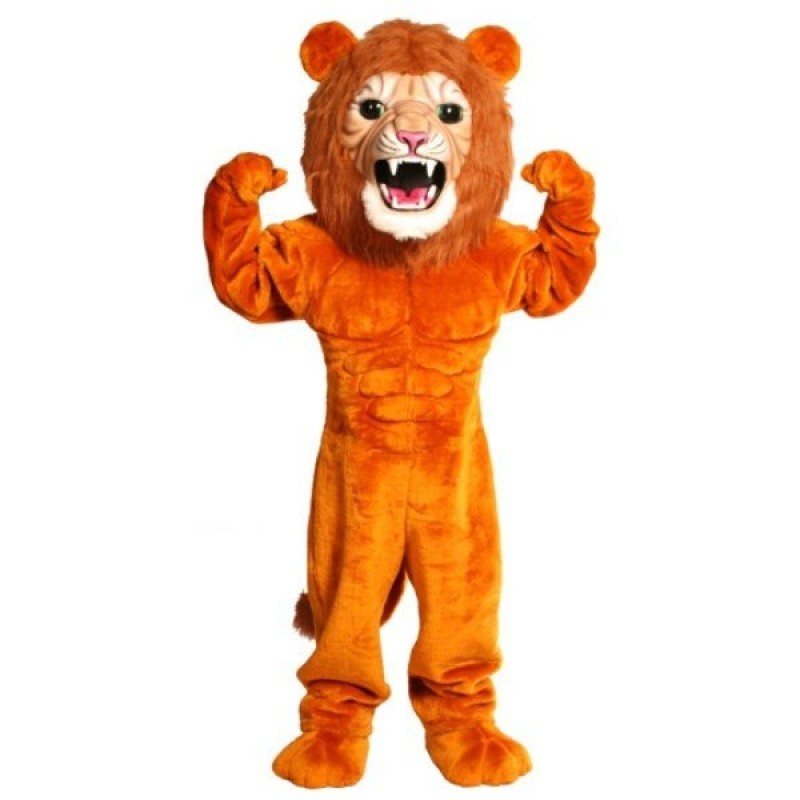 Super Power Cat Lion Mascot Costume Free Shipping