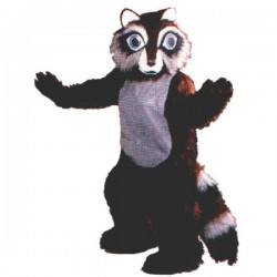 Raccoon Mascot Costume Free Shipping