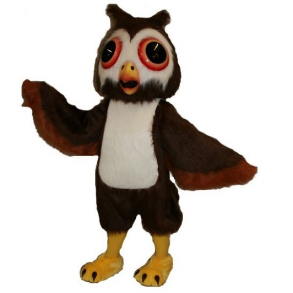Oliver Owl Mascot Costume Free Shipping