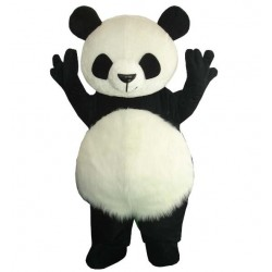 Chinese Giant Panda Mascot Costume Christmas Free Shipping