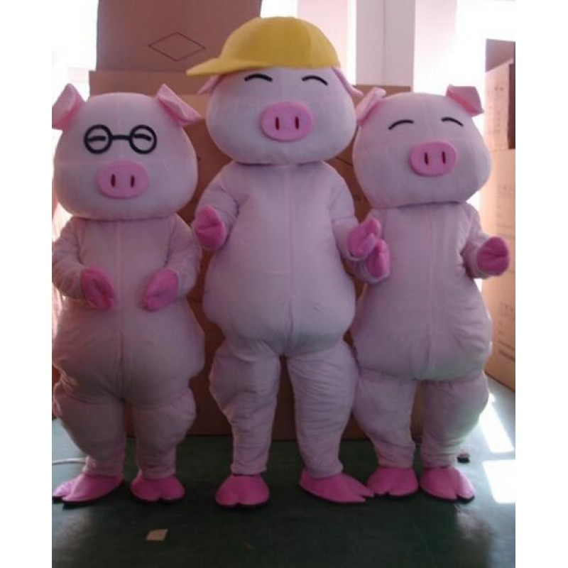 Pig Mascot Costume Mcdull Custom Fancy Costume Free Shipping