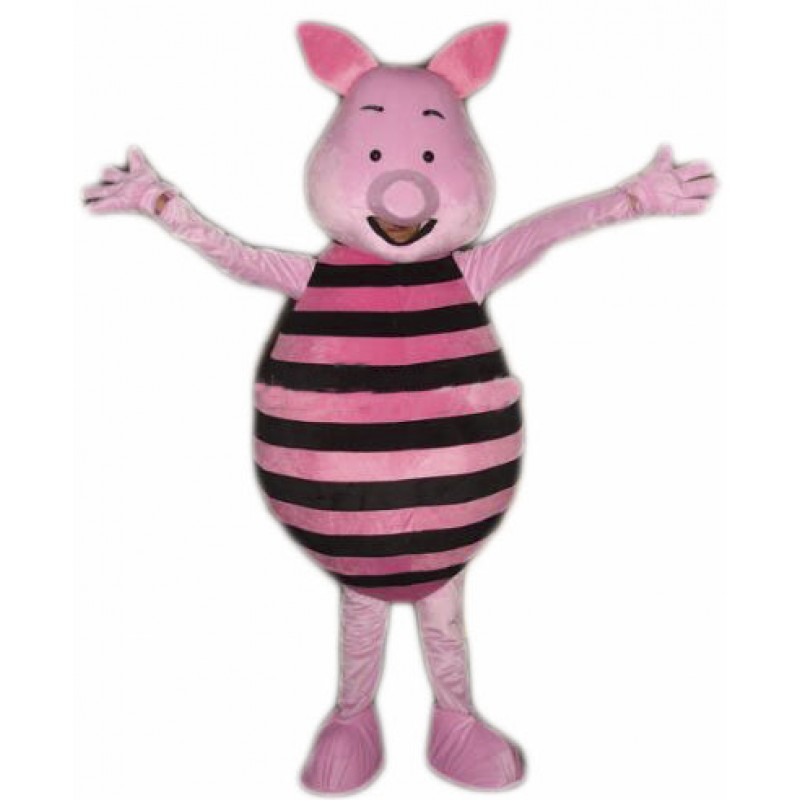Pink Pig Mascot costume Free Shipping
