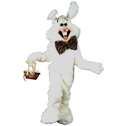 Benny Rabbit Mascot Costume Free Shipping