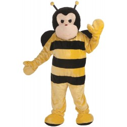 Men's Bumble Bee Plush Mascot Costume