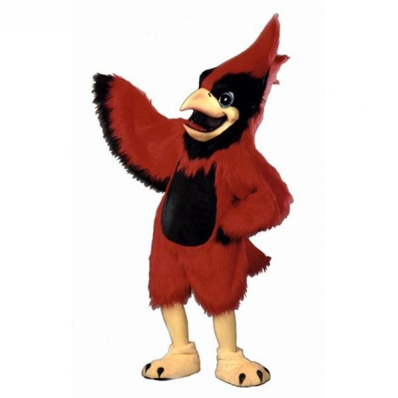 Big Red Cardinal Mascot Costume
