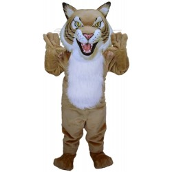 Fierce Wildcat Mascot Costume