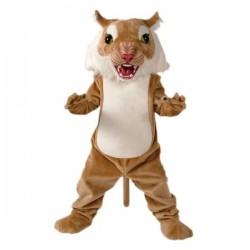 Wildcat Power Cat Mascot Costume