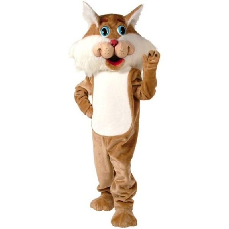 Wirey Wild Cat Mascot Costume