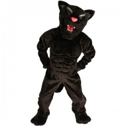 Panther Power Cat Mascot Costume