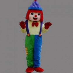 High quality Clown Mascot Costume