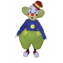 Cartoon Clown Mascot Costume