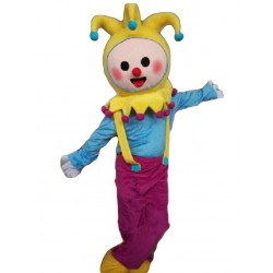 Adult Cartoon Clown Mascot Costume