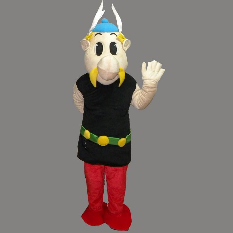 New Adult Size Clown Mascot Cartoon Costume