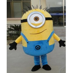 One Eye Despicable Me Minion Mascot Costume