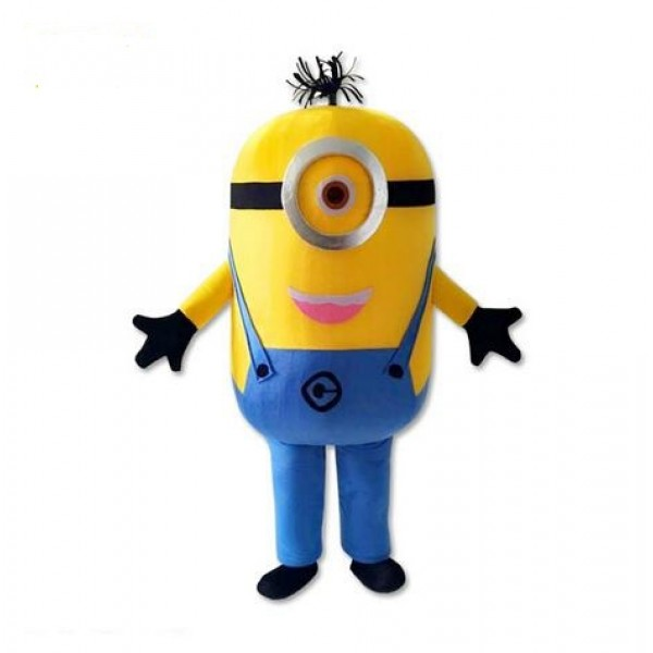 Lovely One Eye Despicable Me Minion Mascot Costume