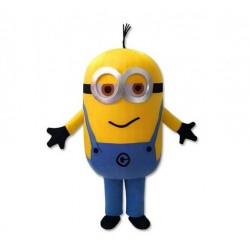 Funny Despicable Me Minion Mascot Costume