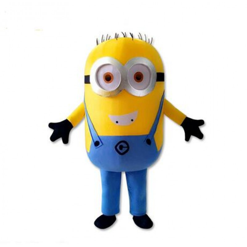 High Quality Cartoon Despicable Me Minion Mascot Costume
