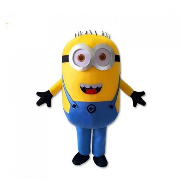 Lovely Cheap Despicable Me Minion Mascot Costume