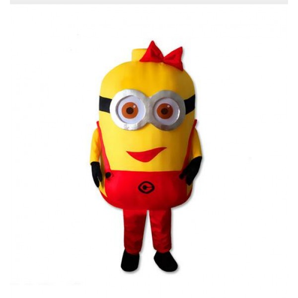 Red Despicable Me Minion Mascot Costume