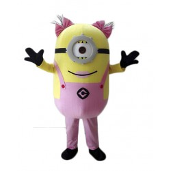 Brand New One Eye Despicable Me Minion Mascot Costume