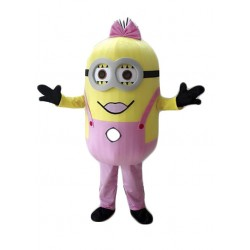 Brand New Despicable Me Minion Mascot Costume