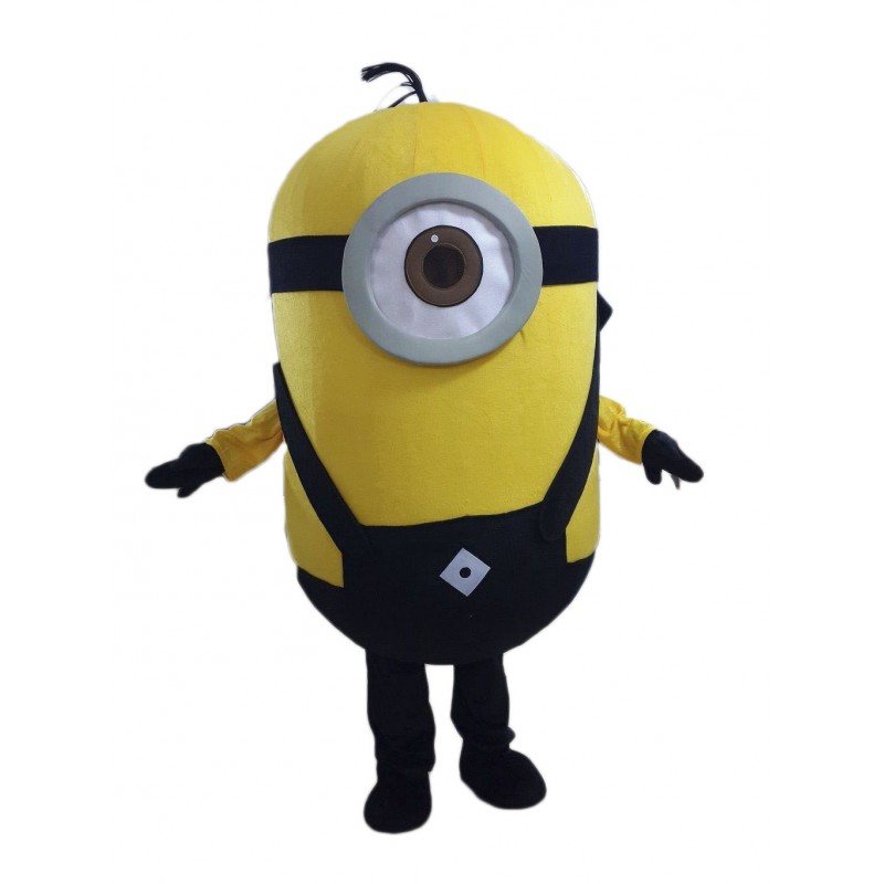 Hot New One Eye Minions Despicable Me Mascot Costume