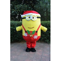 Christmas Minions Despicable Me Mascot Costume