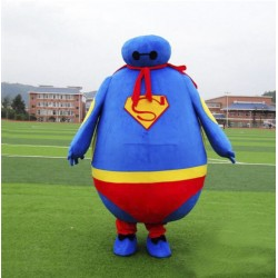 Superman Big Hero Baymax Mascot Costume