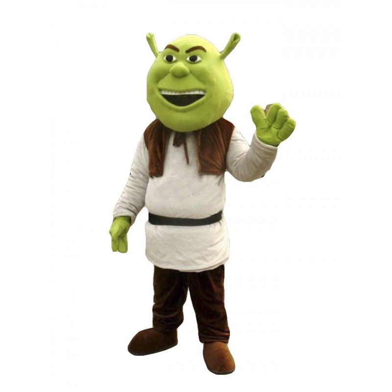 High Quality Shrek Mascot Costume