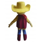 Red Clothes Cowboy Woody Mascot Costume