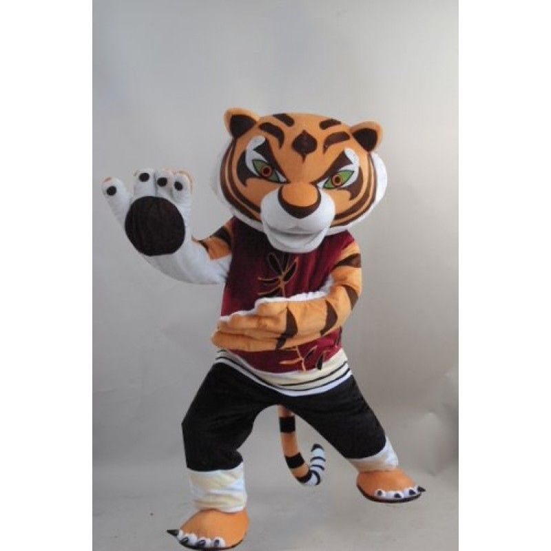 sc 1 st  ShopMascot.com & New Tigress Tiger Kung Fu Panda Mascot Costume