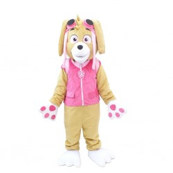 Paw Patrol Skype Dog Cartoon Mascot Costume