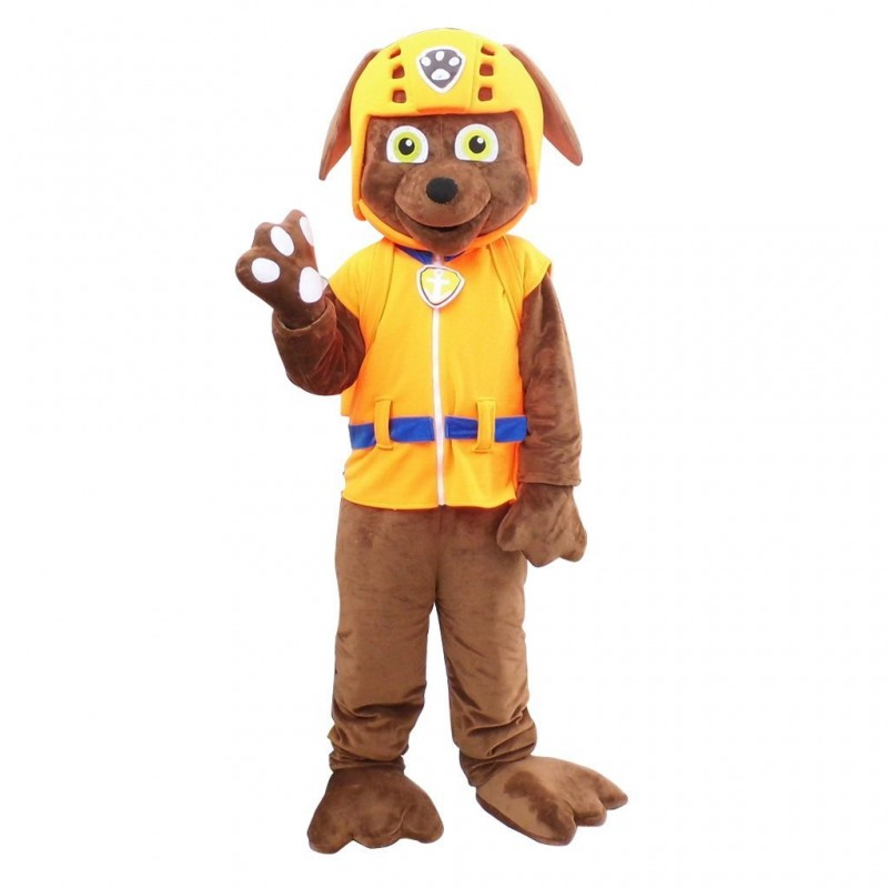 Paw Patrol Zuma Dog Cartoon Mascot Costume