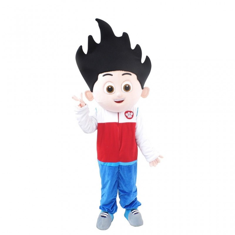 Paw Patrol Ryder Cartoon Mascot Costume