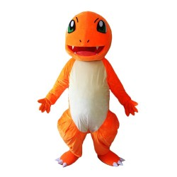 Pocket Monsters Charmander Mascot Costume