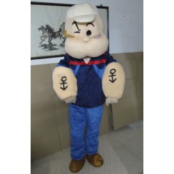 High Quality Popeye Mascot Costume