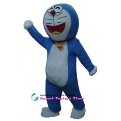 High quality Doraemon Cartoon Mascot Costume