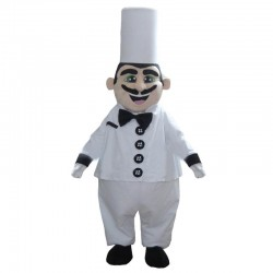Cook Mascot Costume Adult Size Chef Mascot Costume