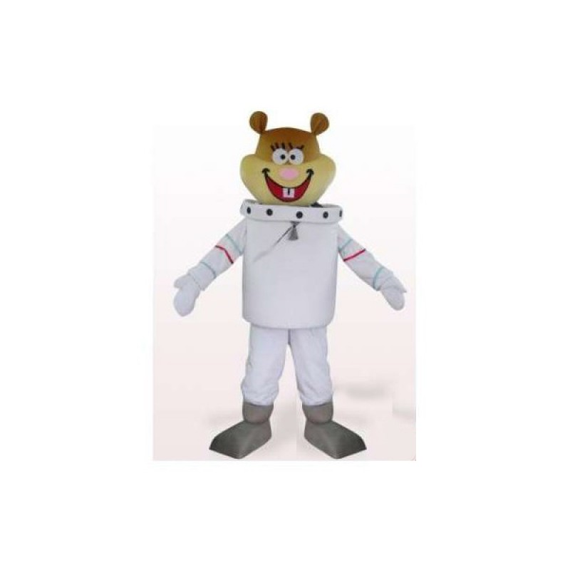 Sandy Mascot Astronaut Beaver Friend Of Spongebob Mascot Costume