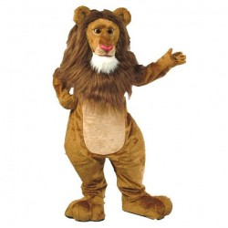 Wally Lion Mascot Costume