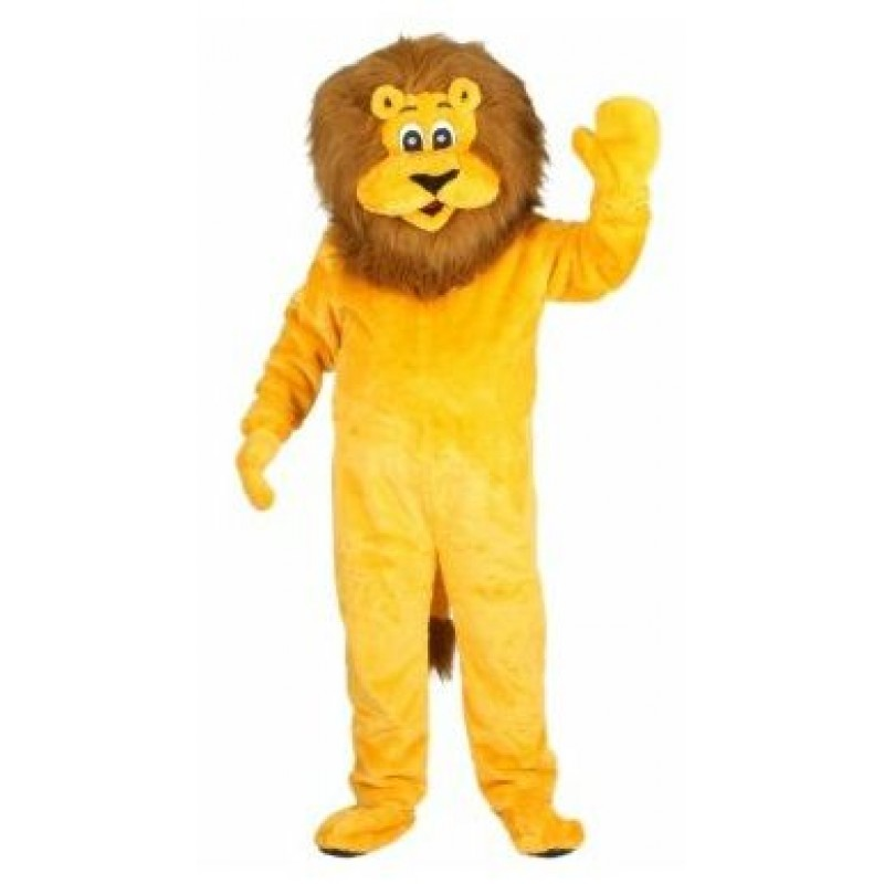 Lionel the Lion Mascot Adult Costume