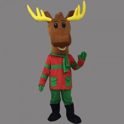 Lovely Christmas Deer Mascot Costume