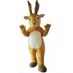 Lovely Deer Mascot Costume Free Shipping