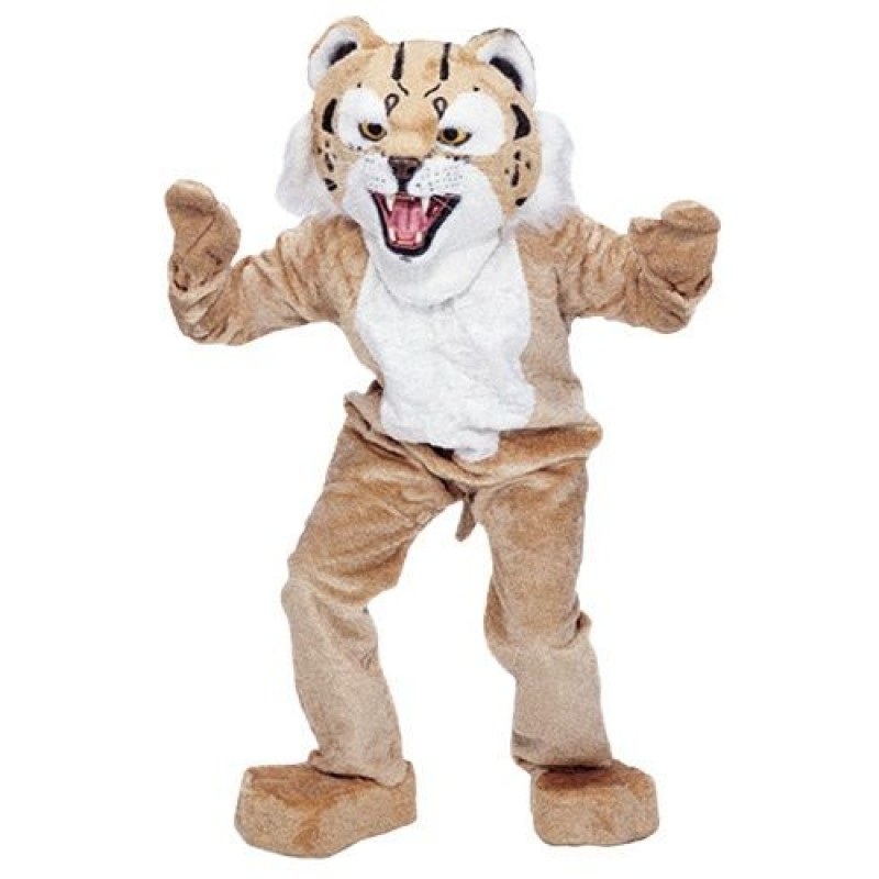 New Big Wildcat Mascot Costume