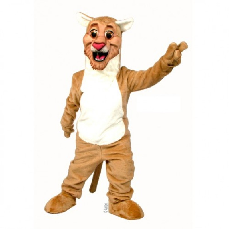 Happy Lion Mascot Costume