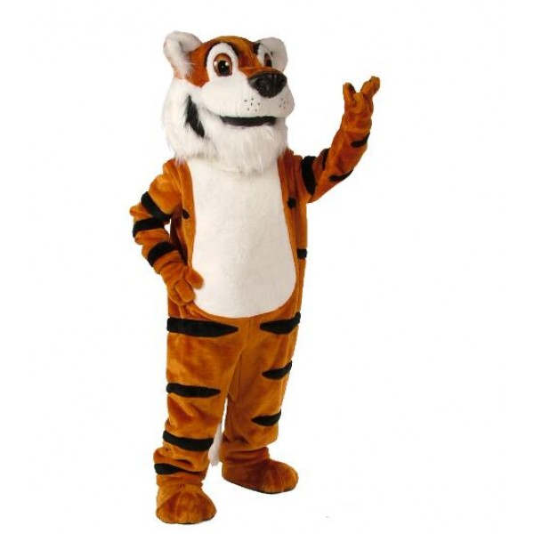 T. Toby Tiger Mascot Costume